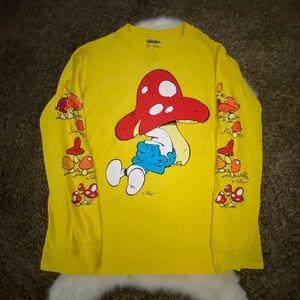 Smurfs long sleeves shirt pullover